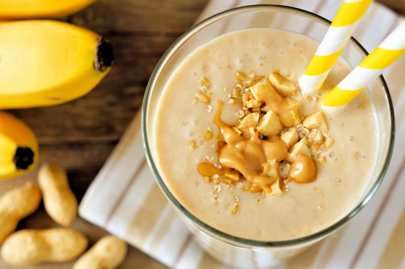 Peanut Butter and Banana Smoothie and a prAna Giveaway! - The Picky ...