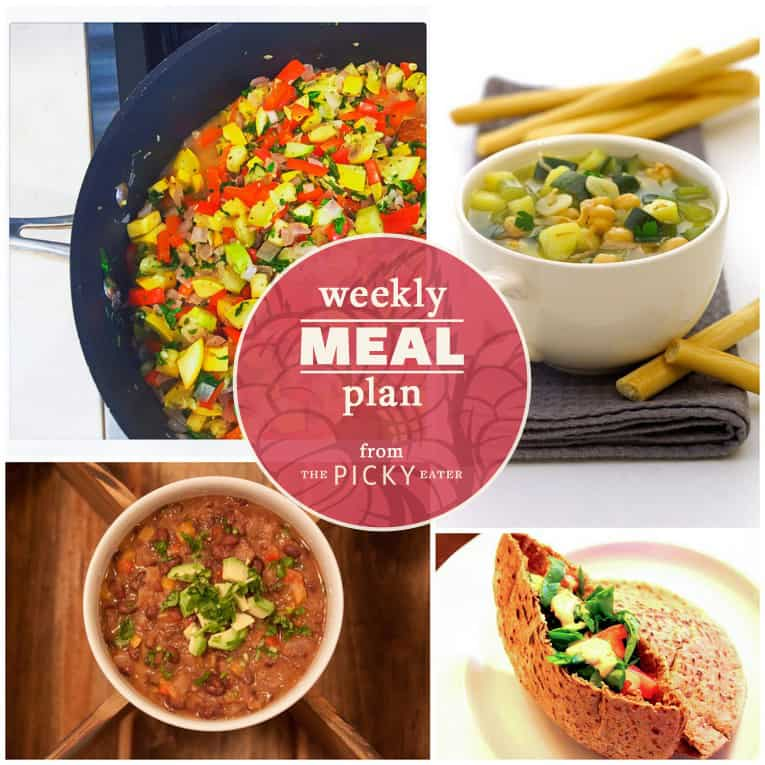 week 6 meal plan