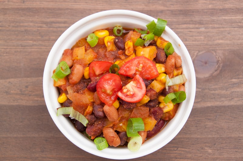 The best vegetarian chili ever the picky eater vegetarian chili recipe forumfinder Gallery