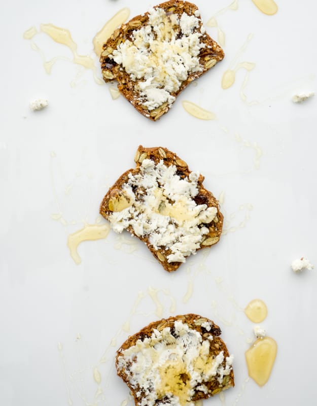 goat cheese crostini